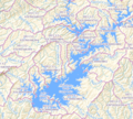 HUC 0313000108 - Lake Lanier watersheds.tiff