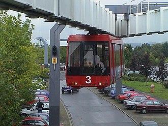 Technical University of Dortmund - The H-Bahn for commuting inside University campus