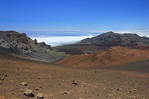 Haleakalā - Haleakalā crater