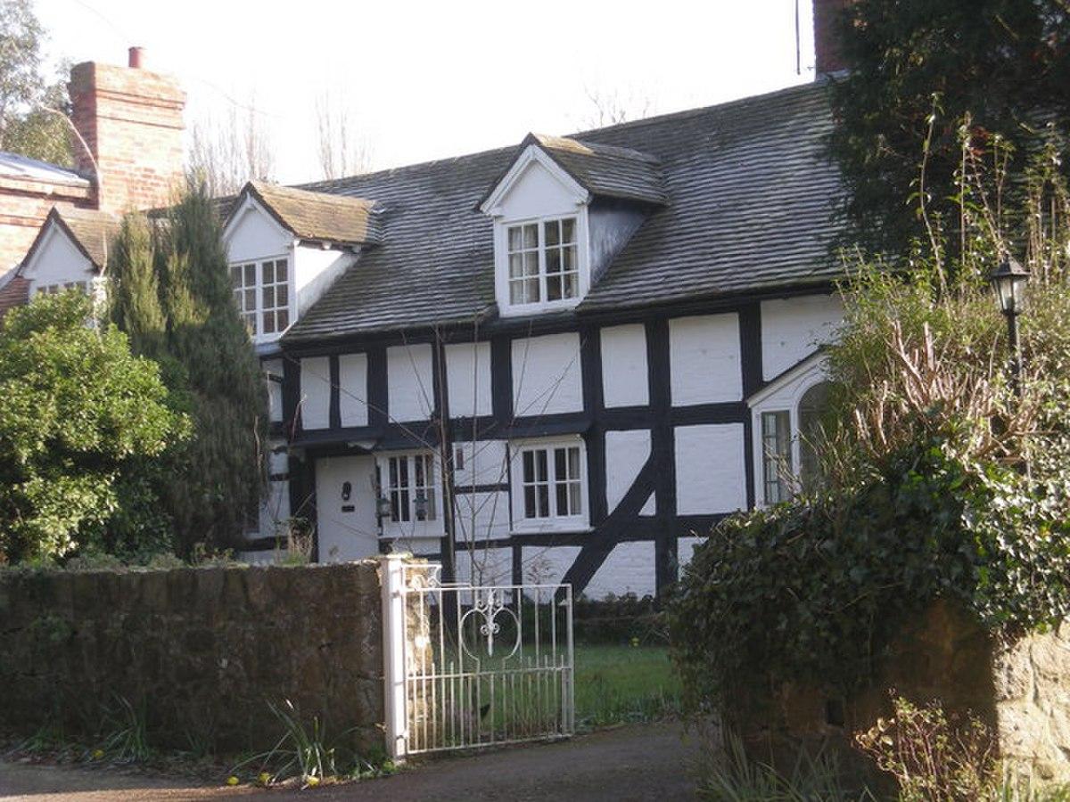 Half-timbered house at Cressage - geograph.org.uk - 695660.jpg
