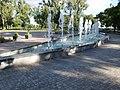 Halfmoon fountain, Katona József Park, Kecskemét 2016 Hungary.jpg