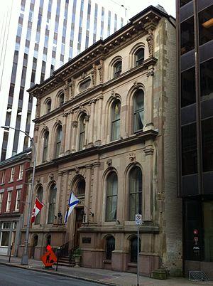 The Halifax Club - The Halifax Club by George Lang (builder)