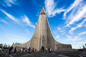 Image illustrative de l'article Hallgrímskirkja