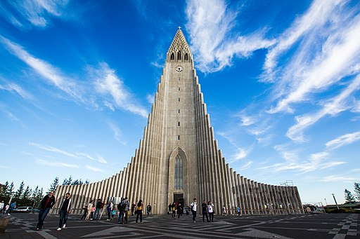Hallgrimskirkja, Reykjavík, Iceland (Unsplash)