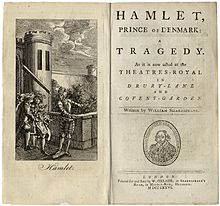 Essay Thesis Statement Example Title Page And Frontispiece For Hamlet Prince Of Denmark A Tragedy As It  Is Now Acted At The Theatresroyal In Drurylane And Coventgarden Biography Writing Services also College Essay Papers Hamlet  Wikipedia Synthesis Essay Prompt