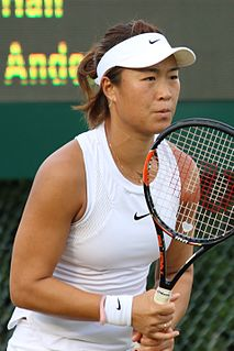 Han Xinyun Chinese tennis player
