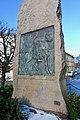Harald Hårdådes plass bauta av Lars Utne 1905. Harald Sigurdsson Hardrada monument in Oslo, Norway 2019-02-13 b.jpg