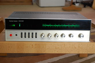 Harman Kardon - Harman Kardon 330B Stereo Receiver (early 1970s). Part of a classic line of Harman Kardon entry level receivers with high quality electronic design and performance, but few frills.