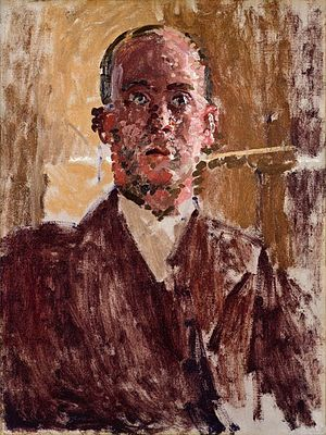 Harold Gilman - Harold Gilman painted by Walter Sickert, 1912.