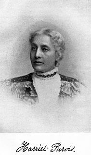 Harriet Forten Purvis American abolitionist