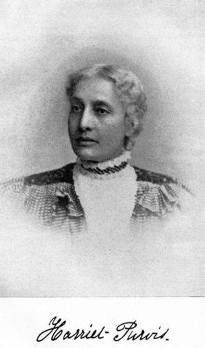 Harriet Forten Purvis