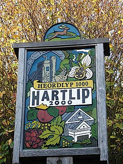 Hartlip village sign - geograph.org.uk - 81608.jpg