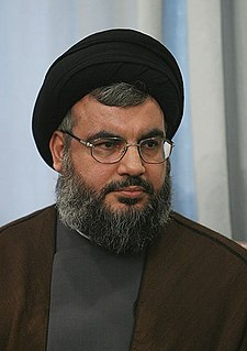 Hassan Nasrallah Secretary General of Hezbollah