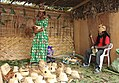 Hat Vendor in Bafia with the Hat Maker in Bafia - Cameroon.jpg