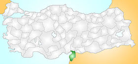 Hatay Turkey Provinces locator.jpg