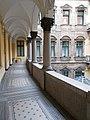 Hatschek house. Star covered floor. - 5 Nyugati Square, Budapest.JPG