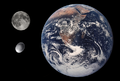 Haumea, Earth & Moon size comparison.png