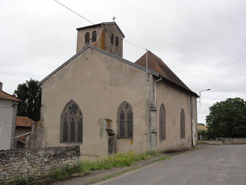 Haussonville (M-et-M) église