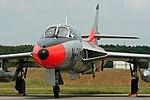 Hawker Hunter T7 N-321 (G-BWGL) (9170980252).jpg
