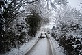 Hazardous conditions on Frank's Hollow Rd - geograph.org.uk - 1670758.jpg