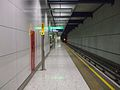 Heathrow Terminal 5 tube stn platform 5 look east.JPG
