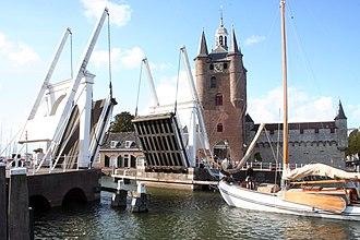 Schouwen-Duiveland - Lift bridge in Zierikzee
