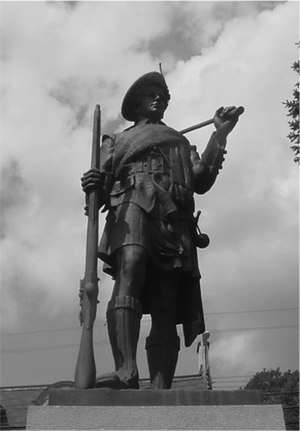 Pictou - Hector Pioneer by renowned sculptor John Wilson, Pictou, Nova Scotia