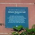 Heidelberg - Friedrich Ebert Grundschule Gedenktafel Johann Heinrich Voß.JPG