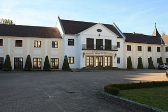 Benedict XVI Philosophical-Theological University - Entrance to the main building