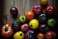 Heirloom Tomatoes on Wooden Board (Unsplash).jpg