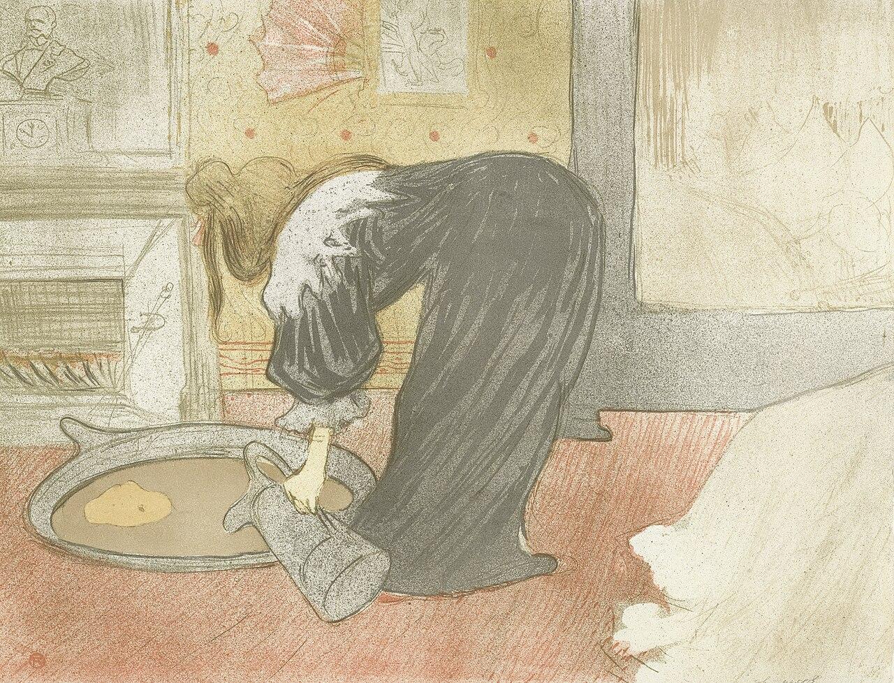 File:Henri de Toulouse-Lautrec - Elles- Woman at the tub - Google ...