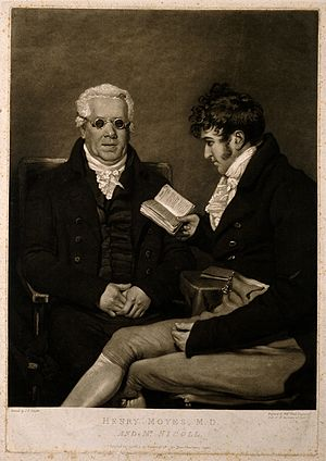 Henry Moyes - Henry Moyes. Mezzotint by W. Ward, 1806, after J. R. Smith