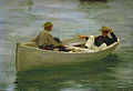 Henry Scott Tuke - In the Rowing Boat (1898).jpg