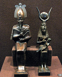Hermitage Egyptian statuettes.jpg