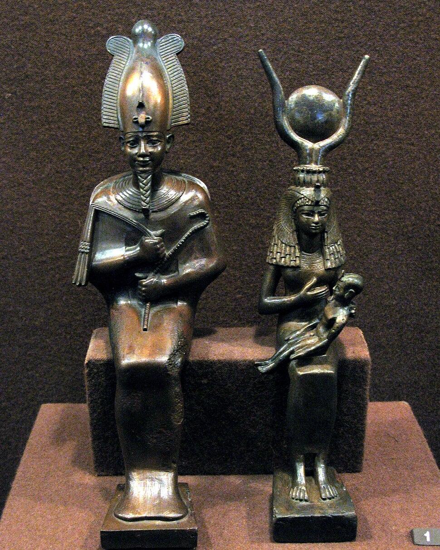Hermitage Egyptian statuettes