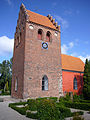 Herstedoester Kirke Albertslund Denmark belfry1.jpg