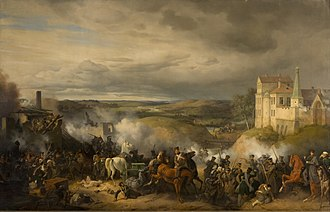 Battle of Maloyaroslavets - Battle of Maloyaroslavets, by Peter von Hess