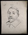 Heydan; portrait. Drawing, c. 1793. Wellcome V0009251.jpg