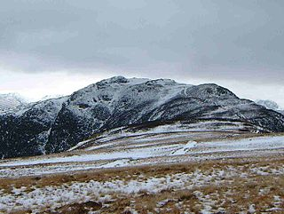 High Spy mountain in United Kingdom