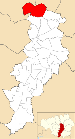Higher Blackley electoral ward within Manchester City Council