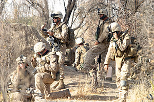 2nd Battalion, 7th Marines - Marines from Company F, 2nd Battalion, 7th Marines conduct combat operations against the enemy in Now Zad, Helmand.