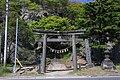 Hitsujisaki jinja (Minato) Big gate.JPG
