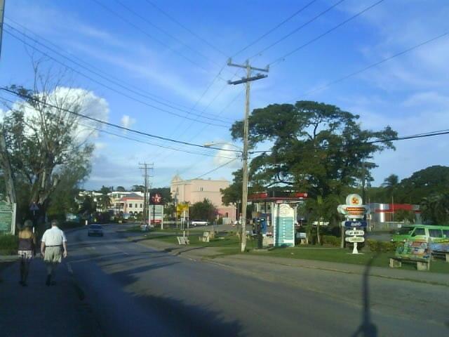 Highway 1 in Holetown