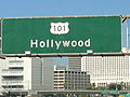 Hollywood road sign on the 101.JPG