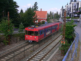 OS T1000 - T1300 unit at Holmenkollen