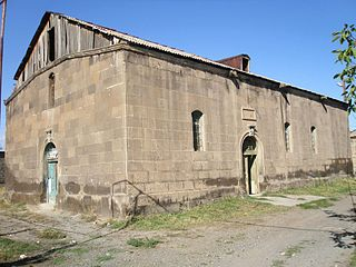 Holy Mother of God Church, Aygeshat, Vagharshapat, 19th century.jpg