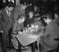 Hoogovenschaaktoernooi dames Fenny Heemskerk, R. Bruce, Donner, Bouwmeester, Bestanddeelnr 905-4838.jpg