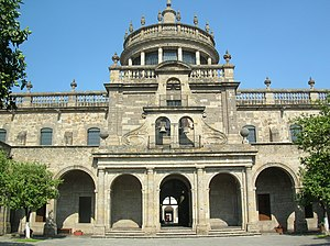 Hospicio Cabañas was the largest hospital in colonial America.