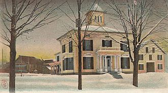 Strong, Maine - The Hotel Strong in 1905