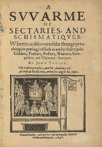 John Taylor (poet) - A Swarm of Sectaries, and Schismatiques, 1641
